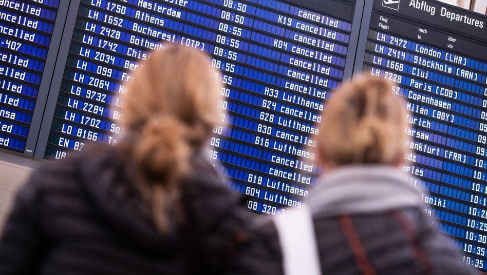 Flughafen in München (Archivbild): Beschwerden von Verbrauchern, die keine Auskünfte erhalten