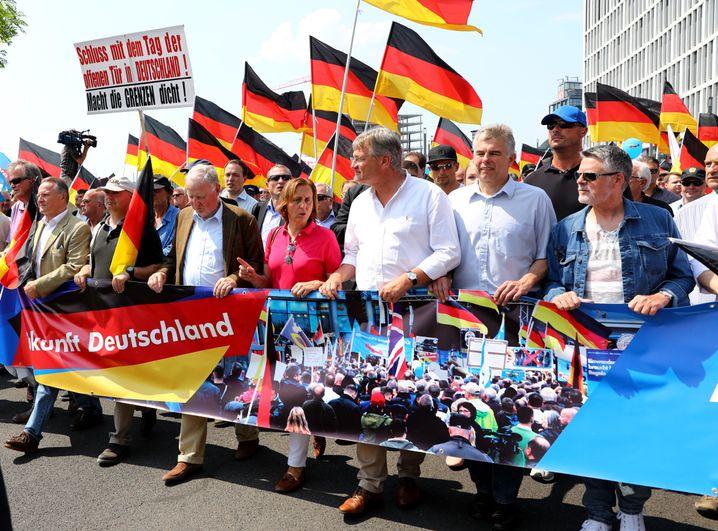 AfD-Spitzenpolitiker Meuthen, Storch, Gauland