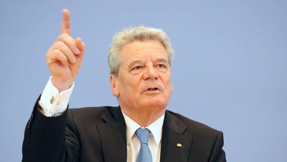 """Präsidentschaftskandidat Gauck: """"Natürlich entlädt sich an ihm der Frust"""""""