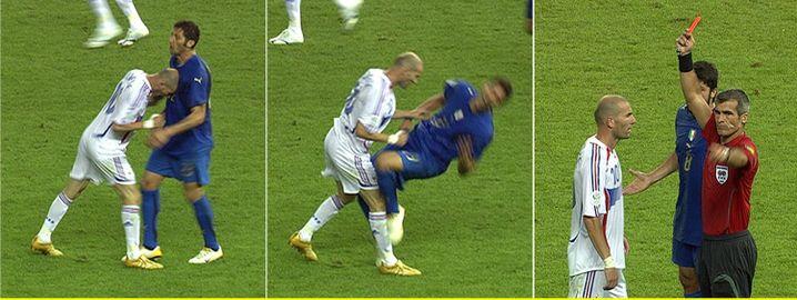 Zidane kontra Materazzi