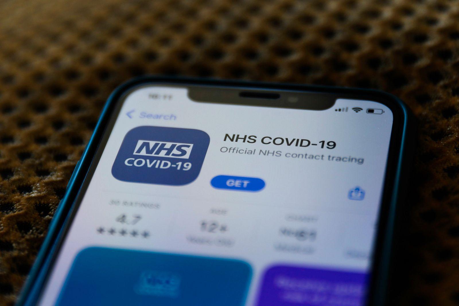 NHS COVID-19 App Photo Illustrations