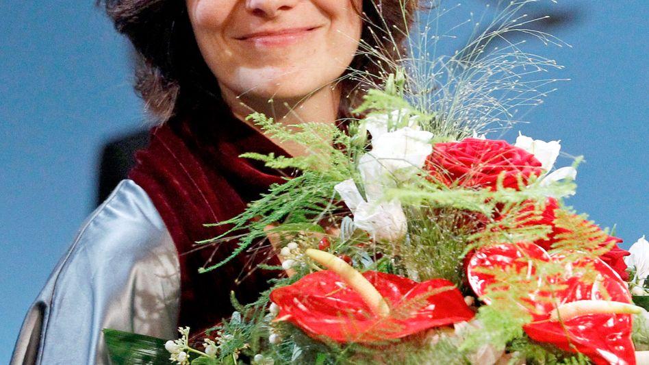 Klagenfurt-Siegerin 2013, jetzt in Leipzig nominiert: Katja Petrowskaja