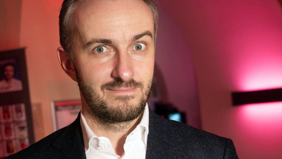 Fernsehmoderator Jan Böhmermann