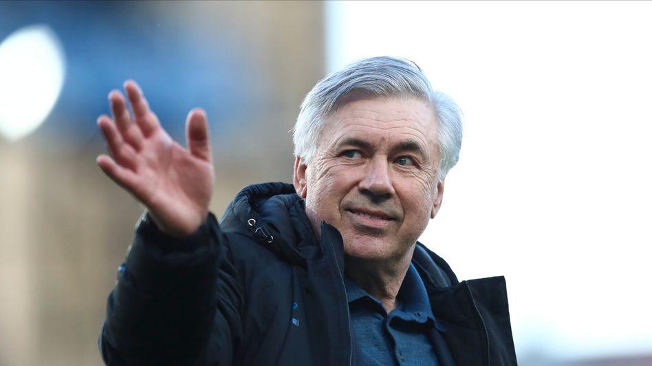 Carlo Ancelotti: Bis 2024 war er eigentlich noch an den englischen Erstligisten FC Everton gebunden