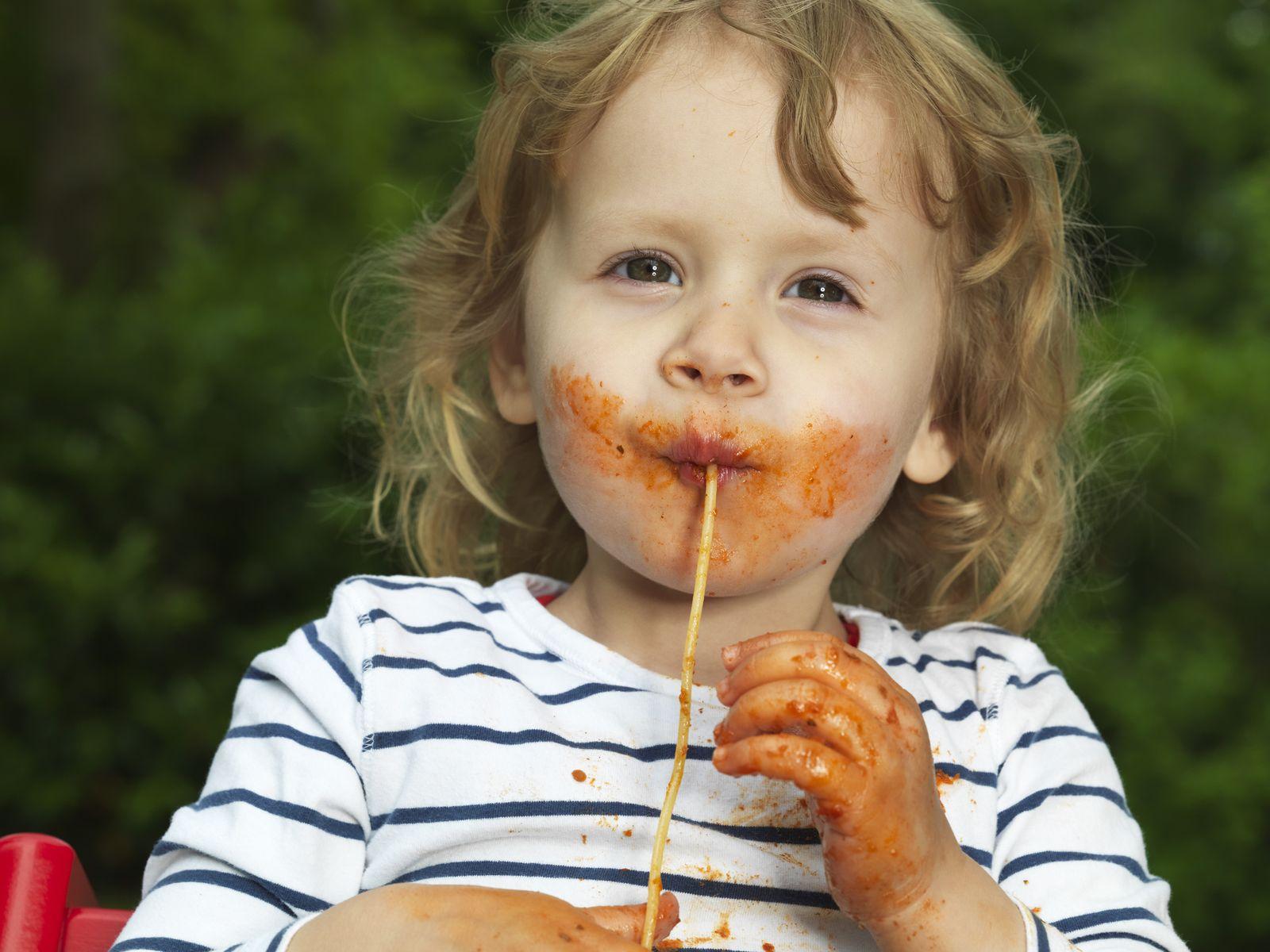 Kind/ Spaghetti