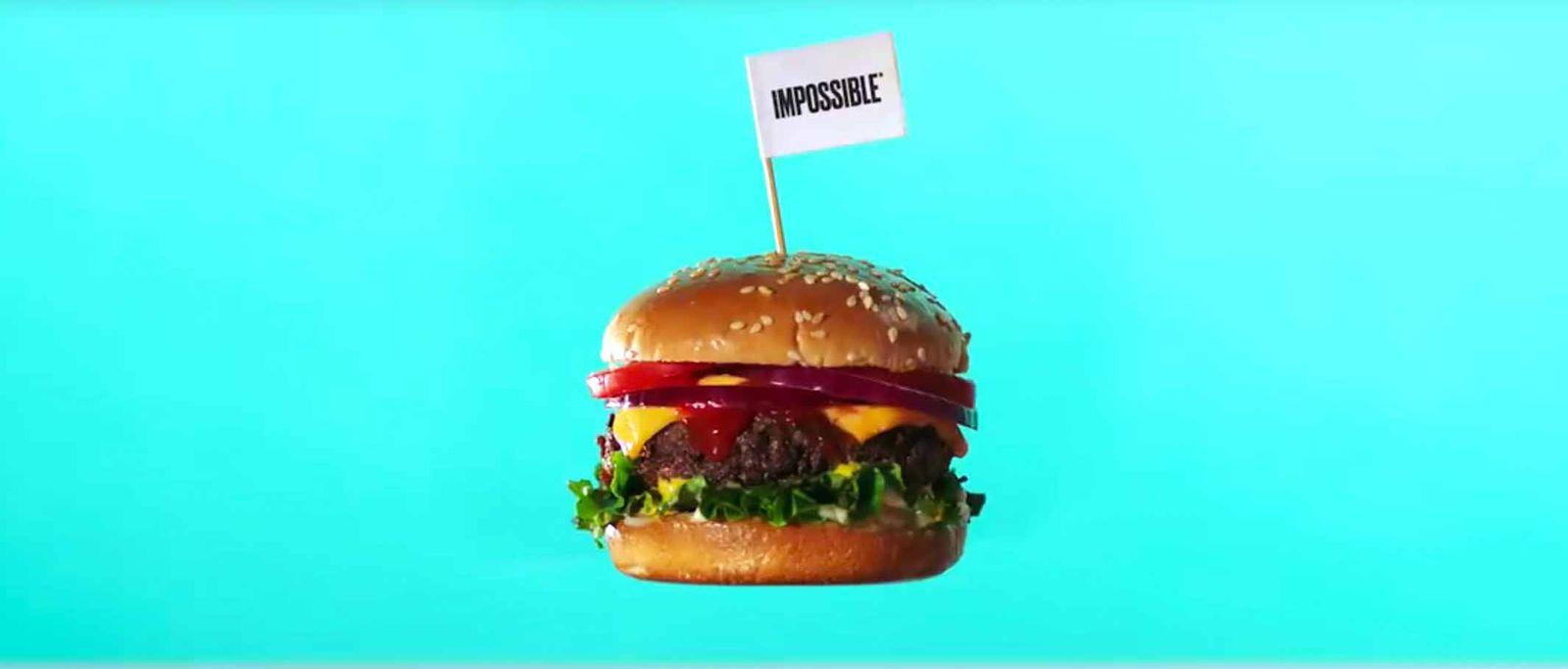 EINMALIGE VERWENDUNG Air New Zealand/ Impossible Burger