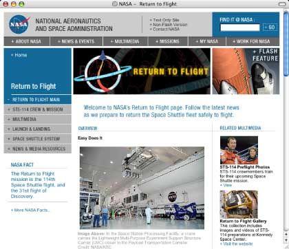 Nasa-Homepage: Millionen Zugriffe