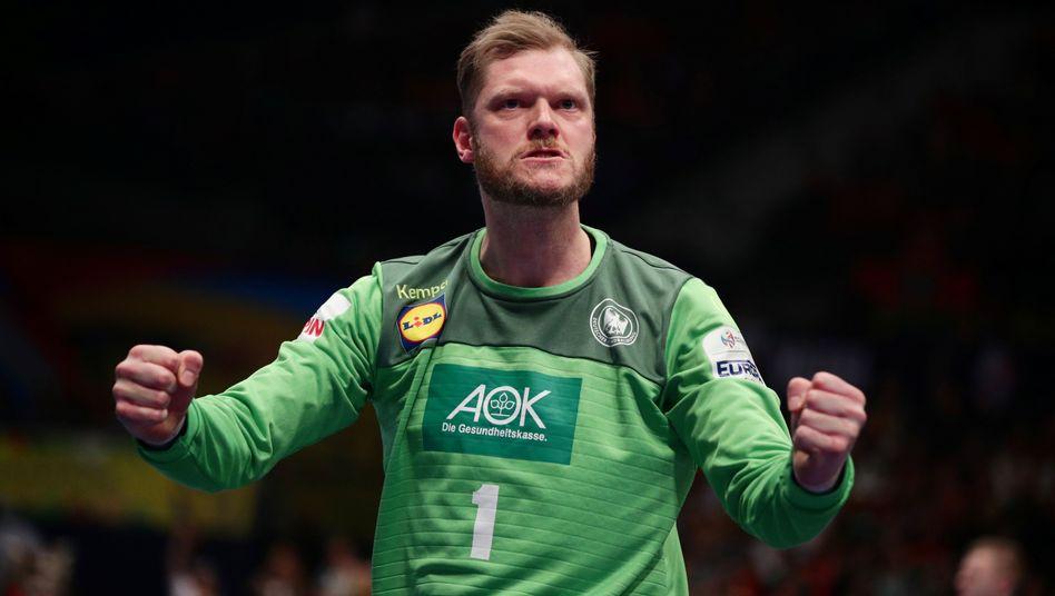 Mal wieder bester Deutscher: Handball-Nationaltorwart Johannes Bitter