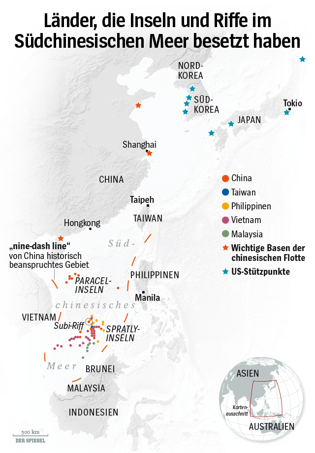 GRAFIK - Südchinesisches Meer - Globale Gesellschaft