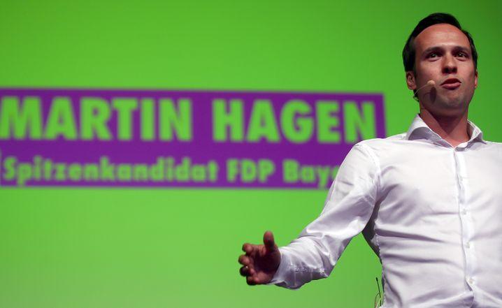 Bayerischer FDP-Spitzenkandidat Martin Hagen