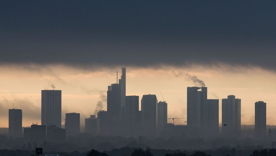 Bankentürme von Frankfurt am Main: Ein Sinnbild für die neue Ordnung in der Finanzwelt