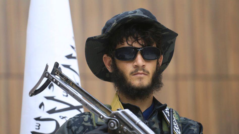 Ein Talibankämpfer in der Provinz Herat (am 21. September)