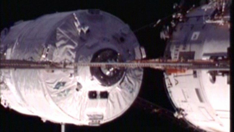 """Europas Weltraumfrachter: """"Edoardo Amaldi"""" macht an der ISS fest"""
