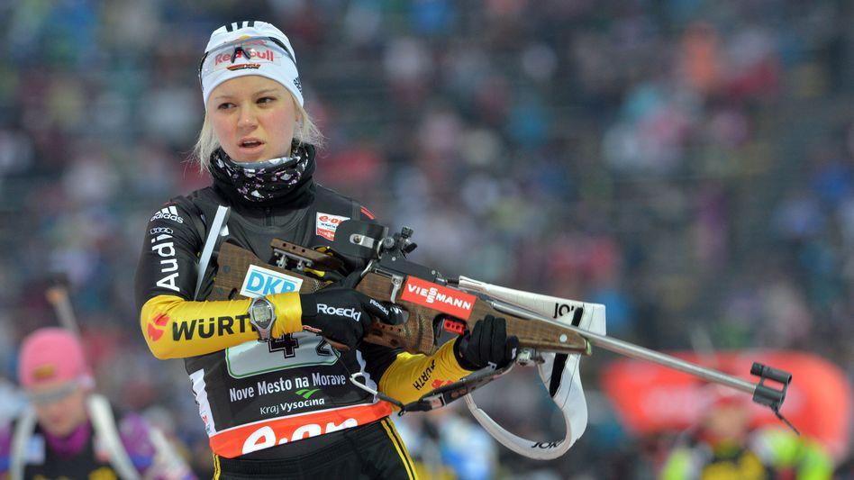 Biathlon-Star Gössner: Sechs Wochen Pause nach Fahrradsturz