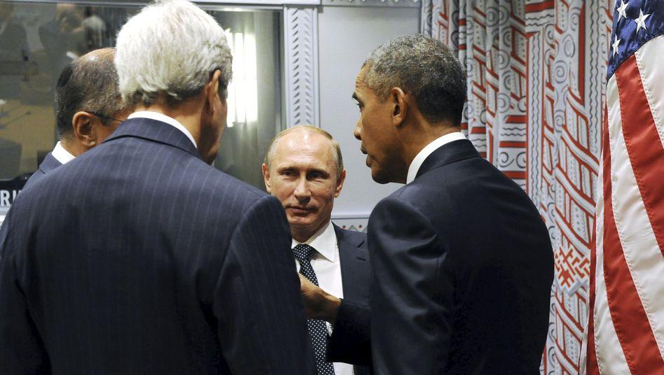 Putin und Obama vor wenigen Tagen in New York: Was will Russland in Syrien?