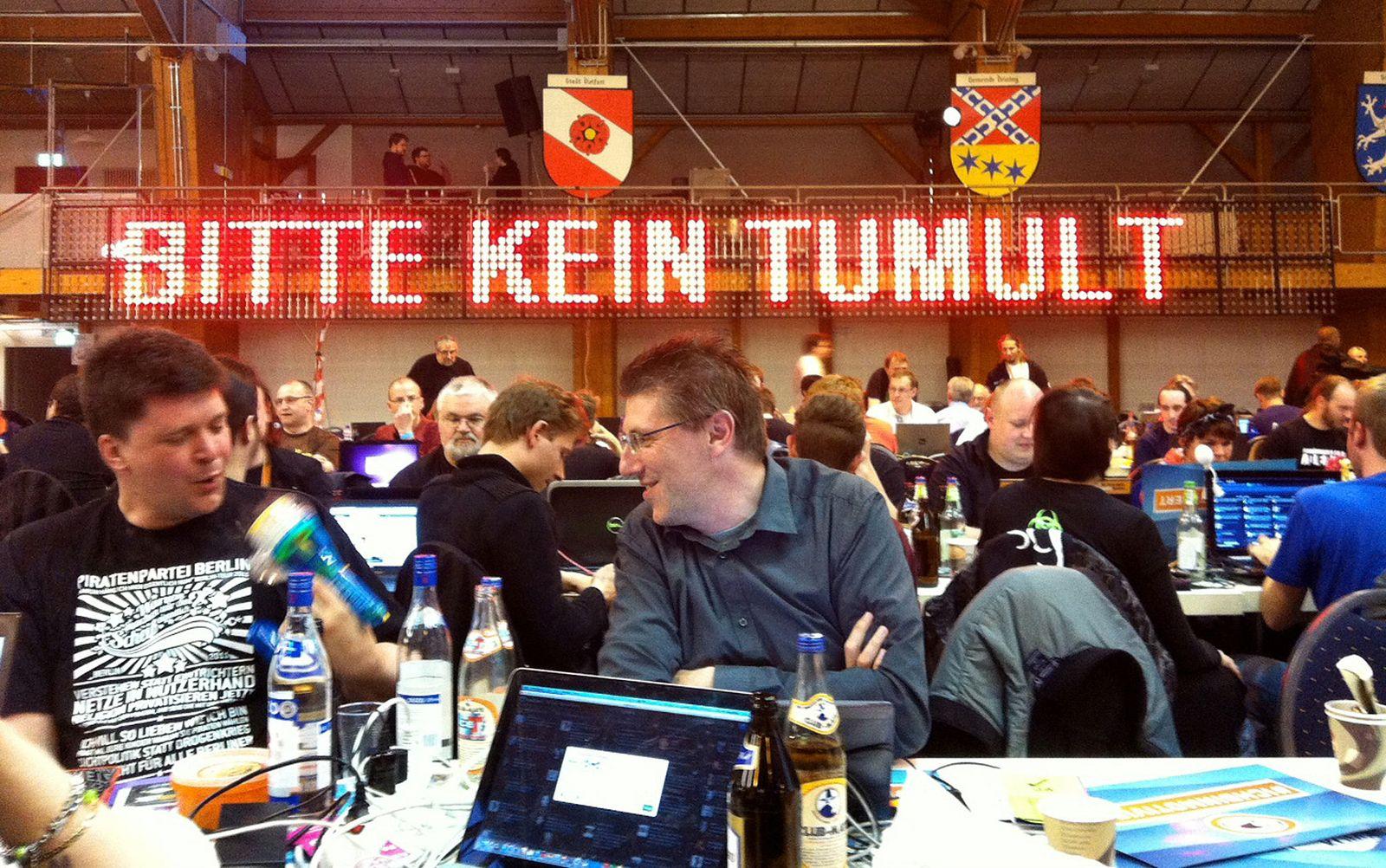 Bundesparteitag Piratenpartei in Neumarkt