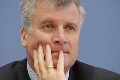 CSU-Vize Seehofer: An der Weggabelung angelangt