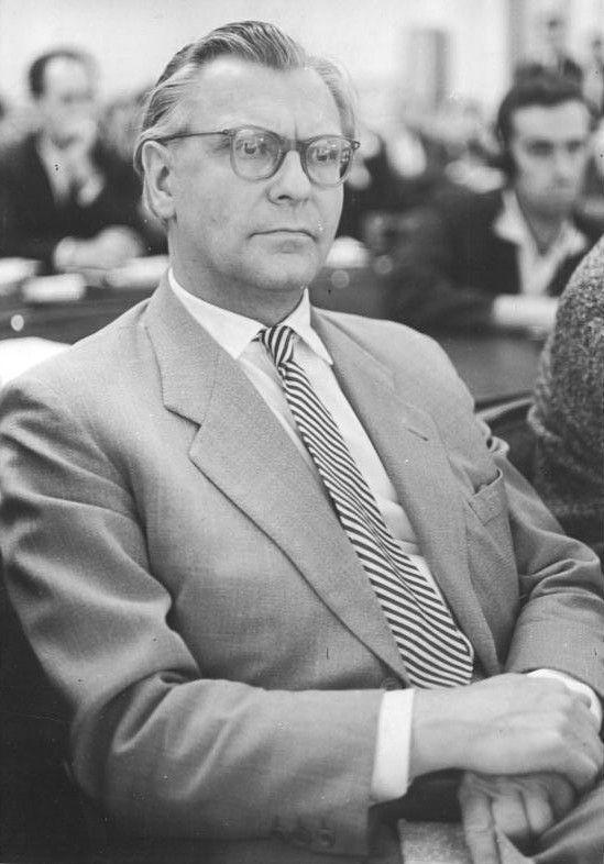 Oberstes Gericht, Globke-Prozess, Zeuge, Eberhard Rebling