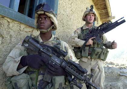 US-Soldaten in Afghanistan: Suche nach al-Qaida-Kämpfern