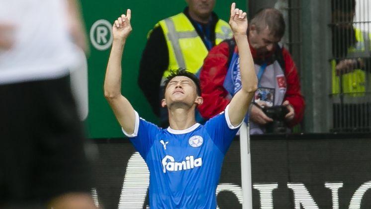 Lee traf doppelt für Holstein Kiel