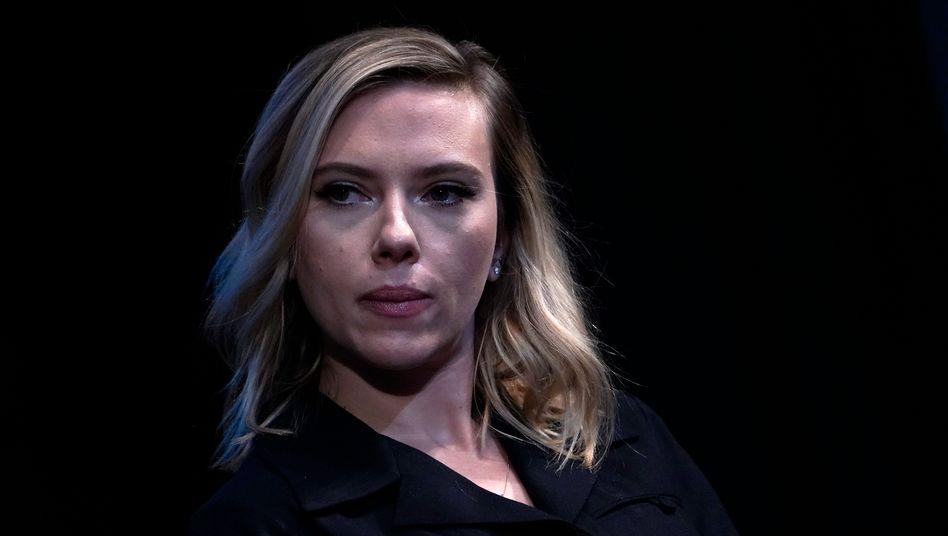 Kritisiert die Golden-Globes-Vergabe: Scarlett Johansson