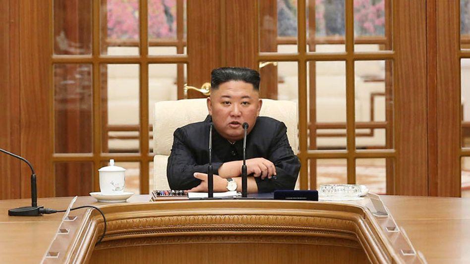 Spekulationen um Gesundheitszustand: Nordkoreas Machthaber Kim Jong Un Anfang Juni