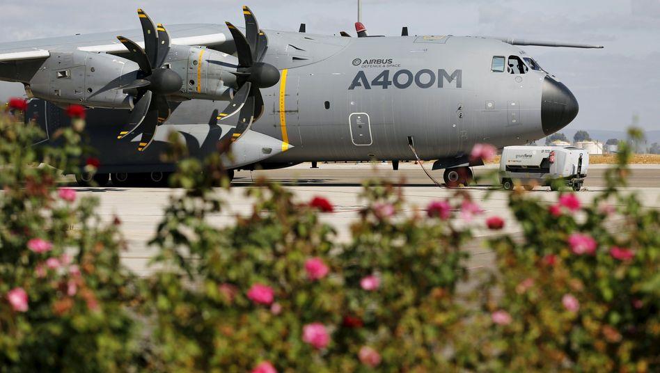 Airbus A400M (in Sevilla): Bestellt sind 53 Stück