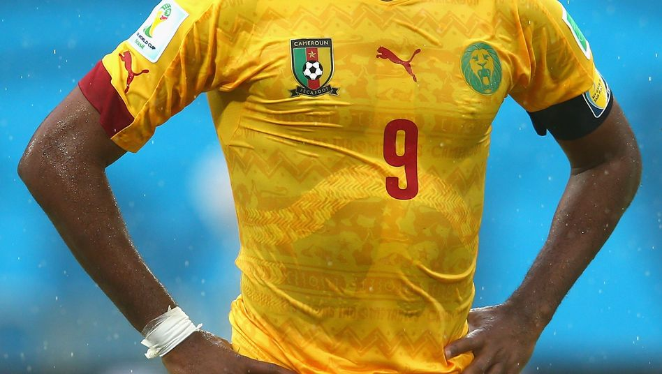 Kamerunstar Samuel Eto'o