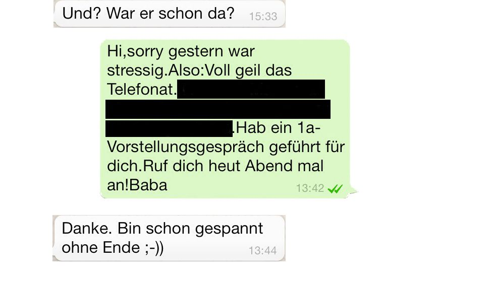 KaSP SPIEGEL JOB 1/2014 Töpper / Bewerbungen / SMS #4