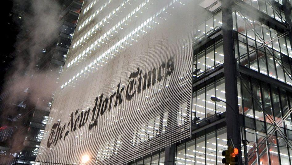 """""""New York Times"""": Wachsende Umsätze mit Online-Abonnenten"""