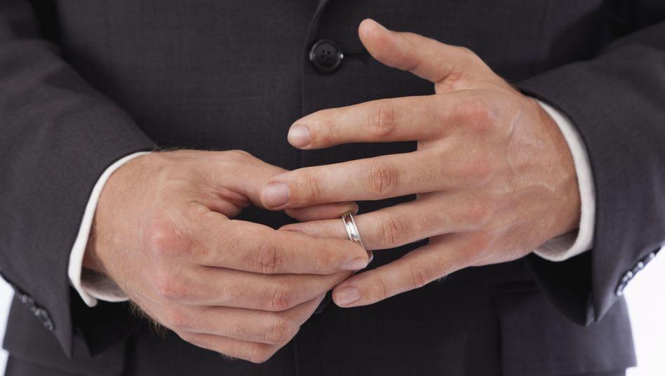 Runter mit dem Ring