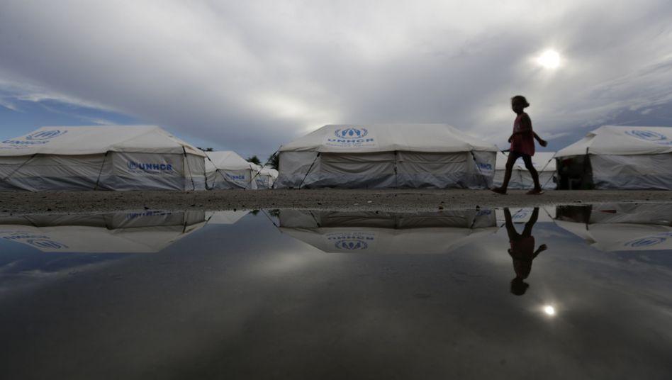 Flüchtlingsunterkünfte in Brasilien