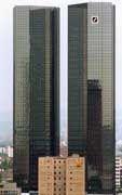 Ziel der Erpressung: Die Deutsche Bank in Frankfurt am Main