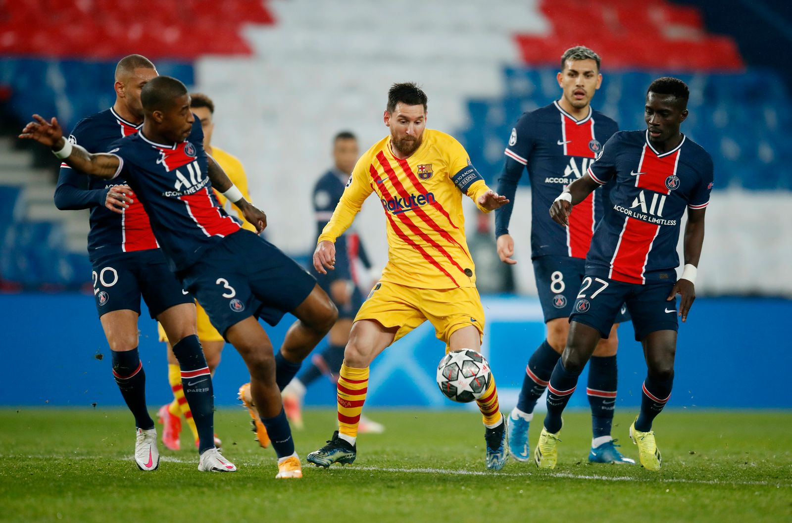 Champions League - Round of 16 Second Leg - Paris St Germain v FC Barcelona