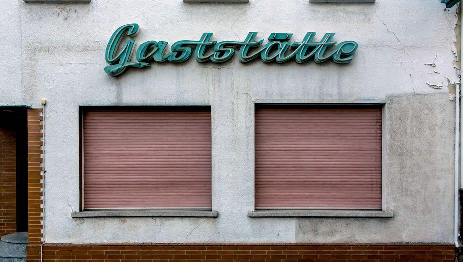 Geschlossene Gaststätte in Rheinland-Pfalz