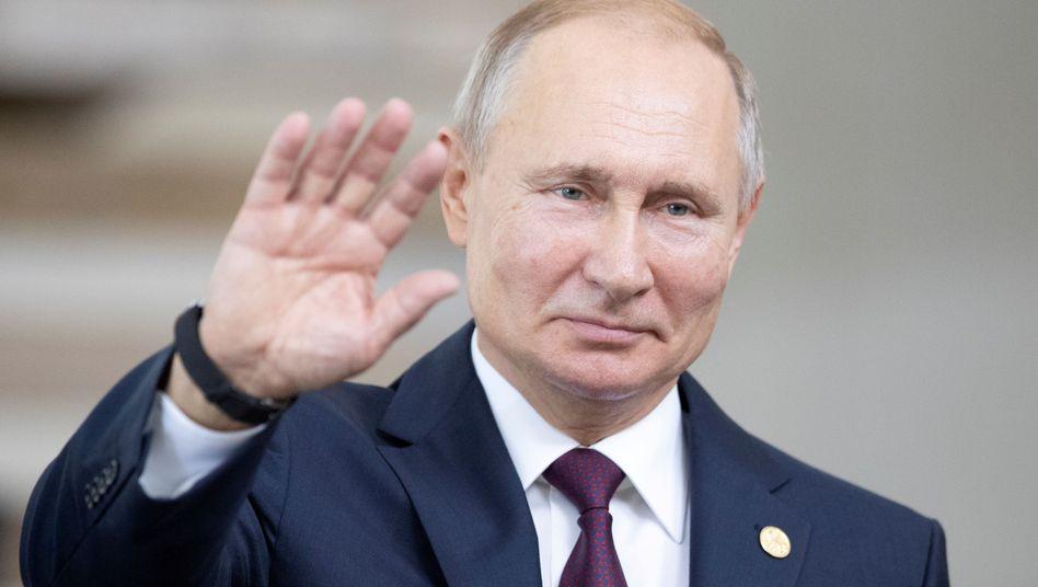 Wladimir Putin verabschiedete das neue Gesetz