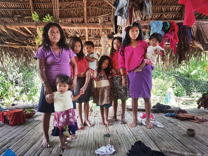 Urarina-Familie: In den Dörfern gibt es keine Schutzmasken