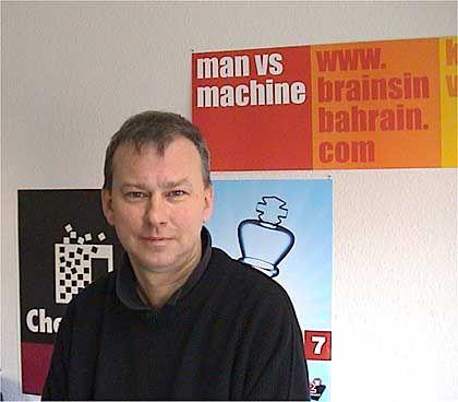 André Schulz, Chefredakteur von Chessbase.de: Experte zwischen Schach und Rechner