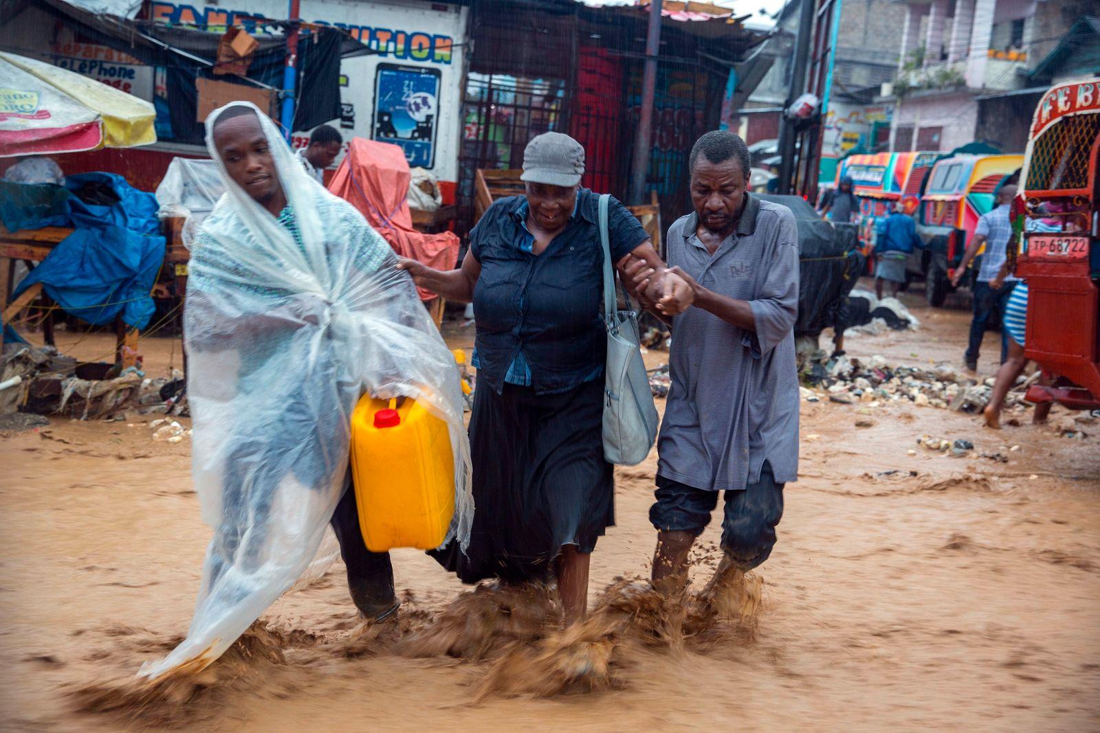Tropensturm «Laura» - Haiti