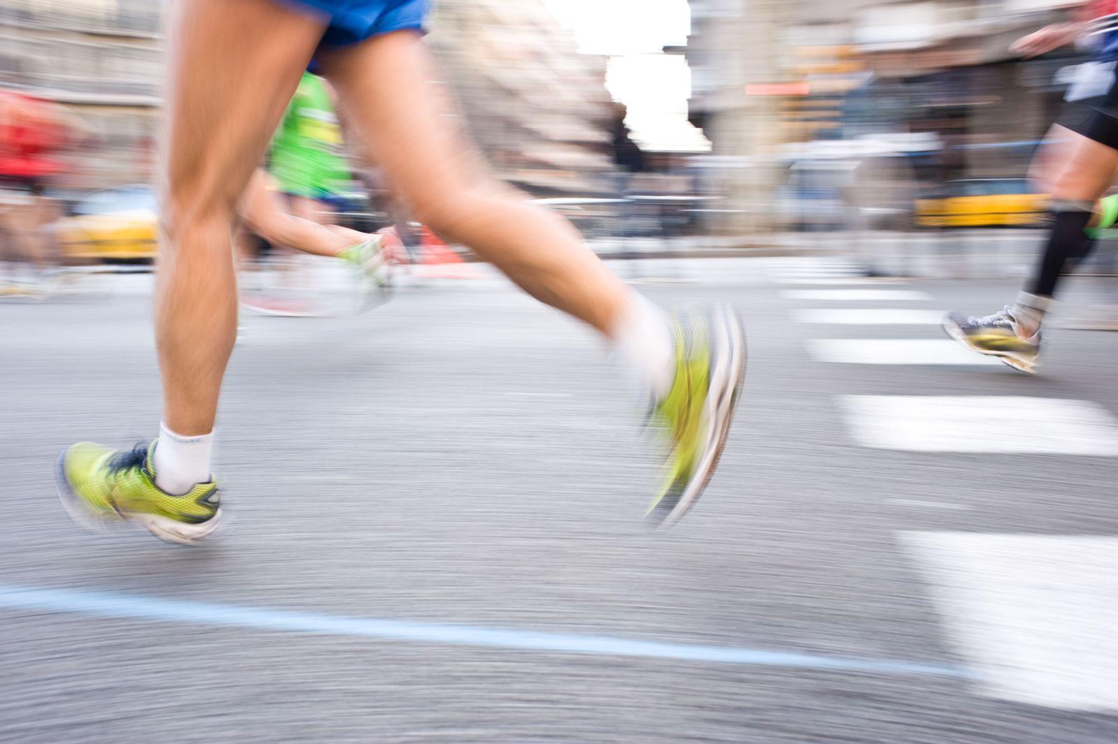 EINMALIGE VERWENDUNG Marathon / Symbol