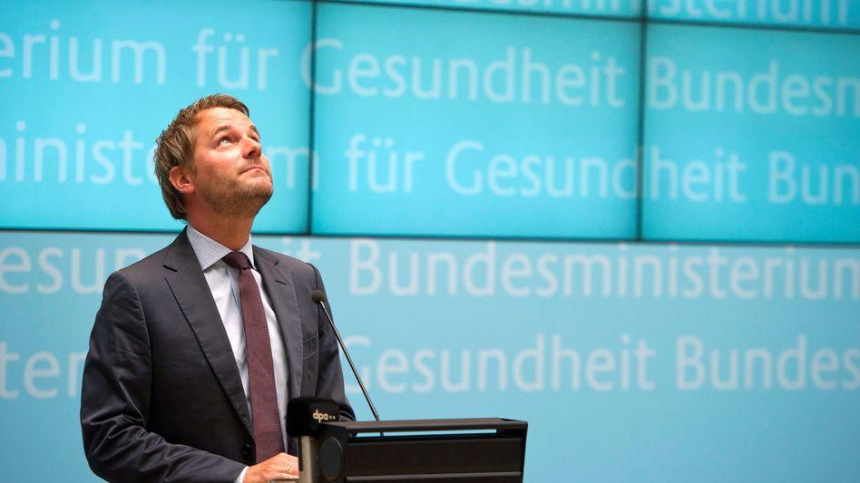 Gesundheitsminister Bahr (FDP): Nur wenige Liberale nahmen an der Umfrage teil