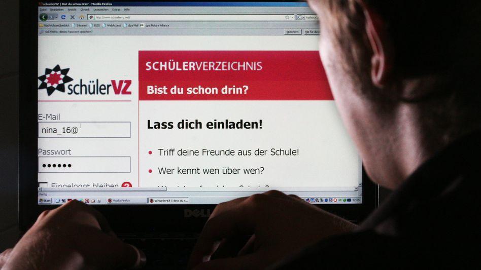 SchülerVZ-Startseite: Ein Forscher hat ein neues Datenleck bei der Plattform entdeckt
