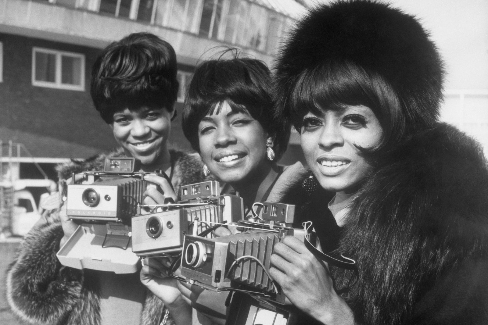 The Supremes with Cameras in London