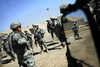 """US-Soldaten in Bagdad: """"Wir kicherten leise in uns hinein"""""""