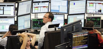 Händler an der Frankfurter Börse: Eine Aktie gegen alle anderen