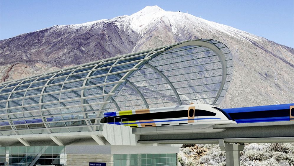 Photo Gallery: Magnetic Levitation on the Canary Islands