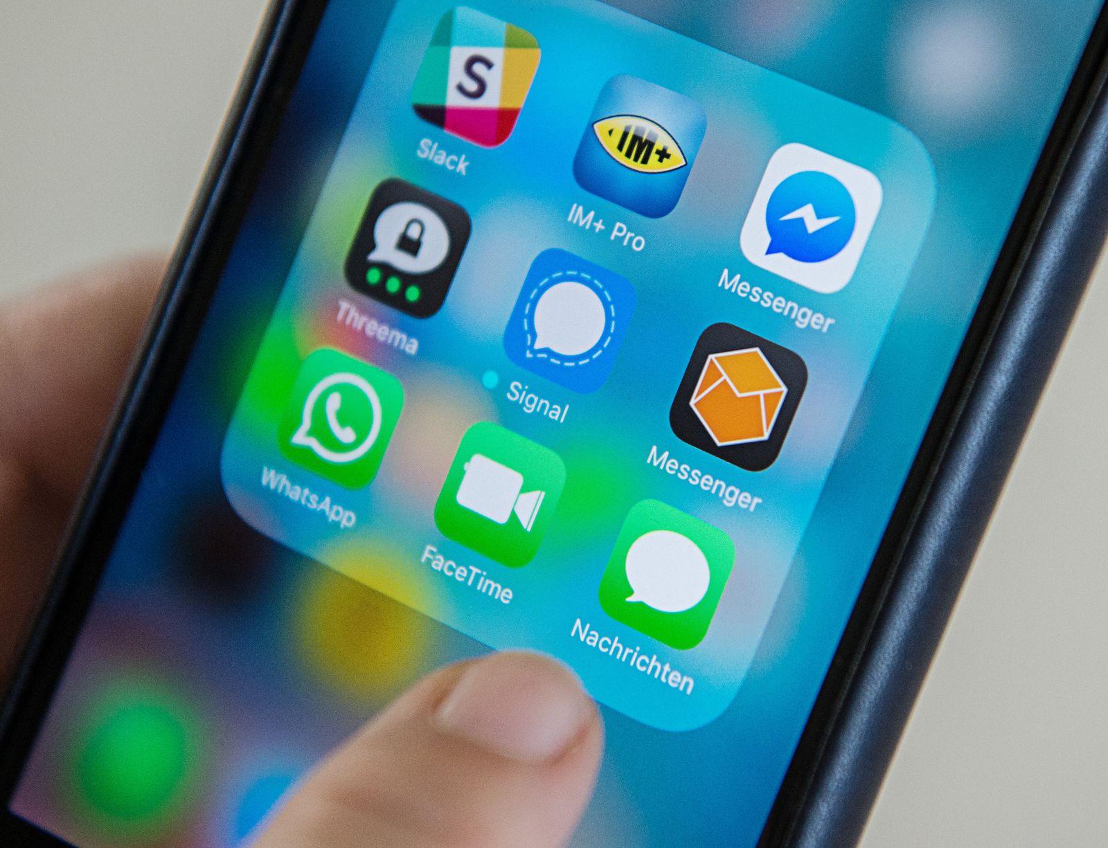 Messenger-Dienste Smartphone