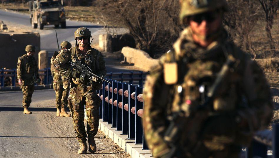 """Australische Soldaten in Afghanistan (Foto von 2013): """"Sehr ernste Vergehen"""""""