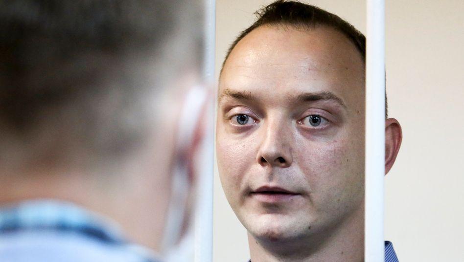 Der ehemalige Journalist Iwan Safronow (Archiv)