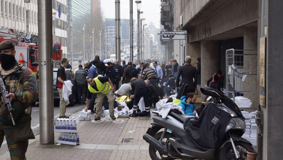 Brüssel: Viele Tote und Verletzte bei Explosionen
